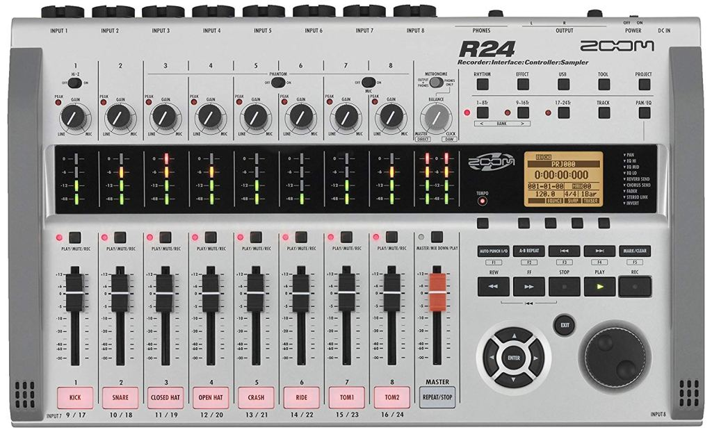 zoom-r24-multitrack-recorder-review