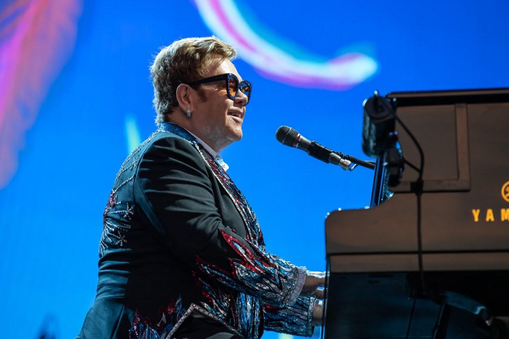 Tech News: Sir Elton JohnLucca Summer Festival concert, Lucca, Italy - 07 Jul 2019