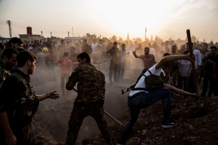 'Trump Is Pleased to Watch Us Suffer' — Scenes From the President's Kurdish Betrayal