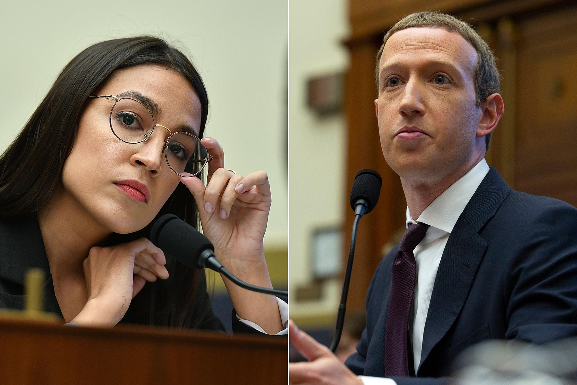 Alexandria Ocasio-Cortez Exposed Mark Zuckerberg and Facebook - Rolling  Stone