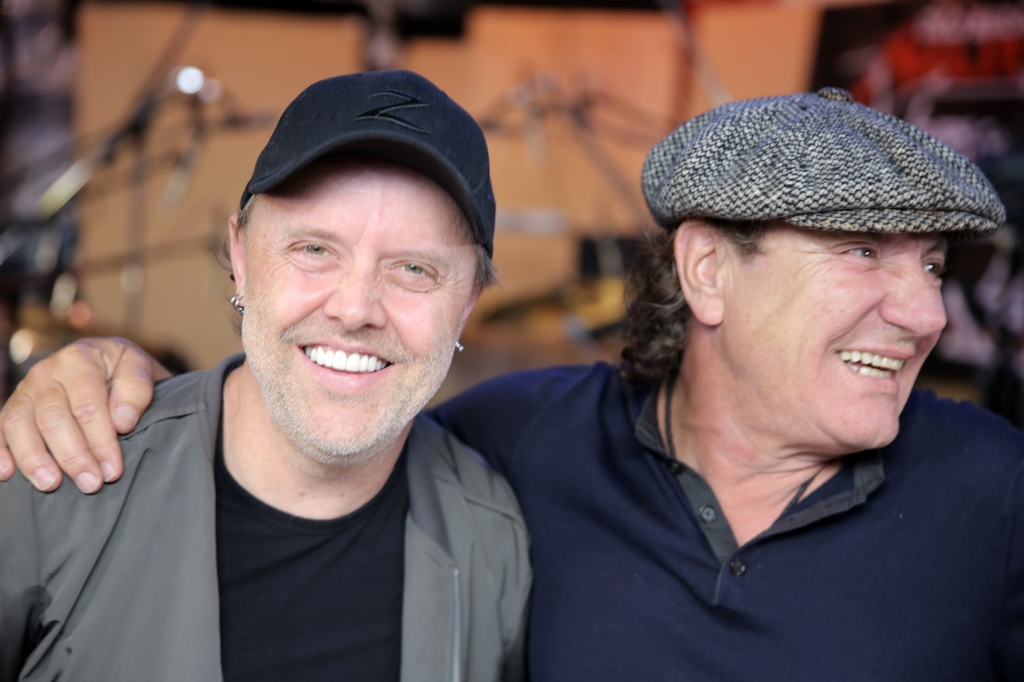 Metallica's Lars Ulrich Talks Touring With AC/DC: 'We Were in Heaven'