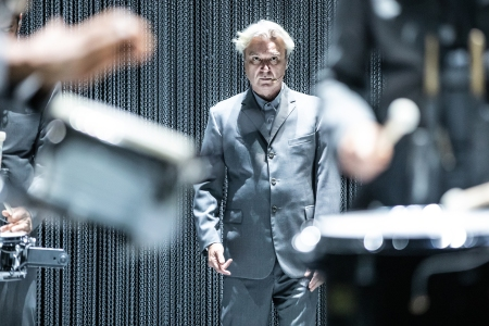 David Byrne on Finding Happiness Among Chaos, His 'American Utopia' Broadway Residency