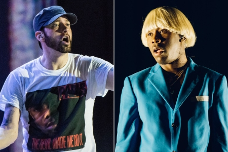 Tyler, the Creator Heard Eminem's Homophobic Slur, Seems Unbothered