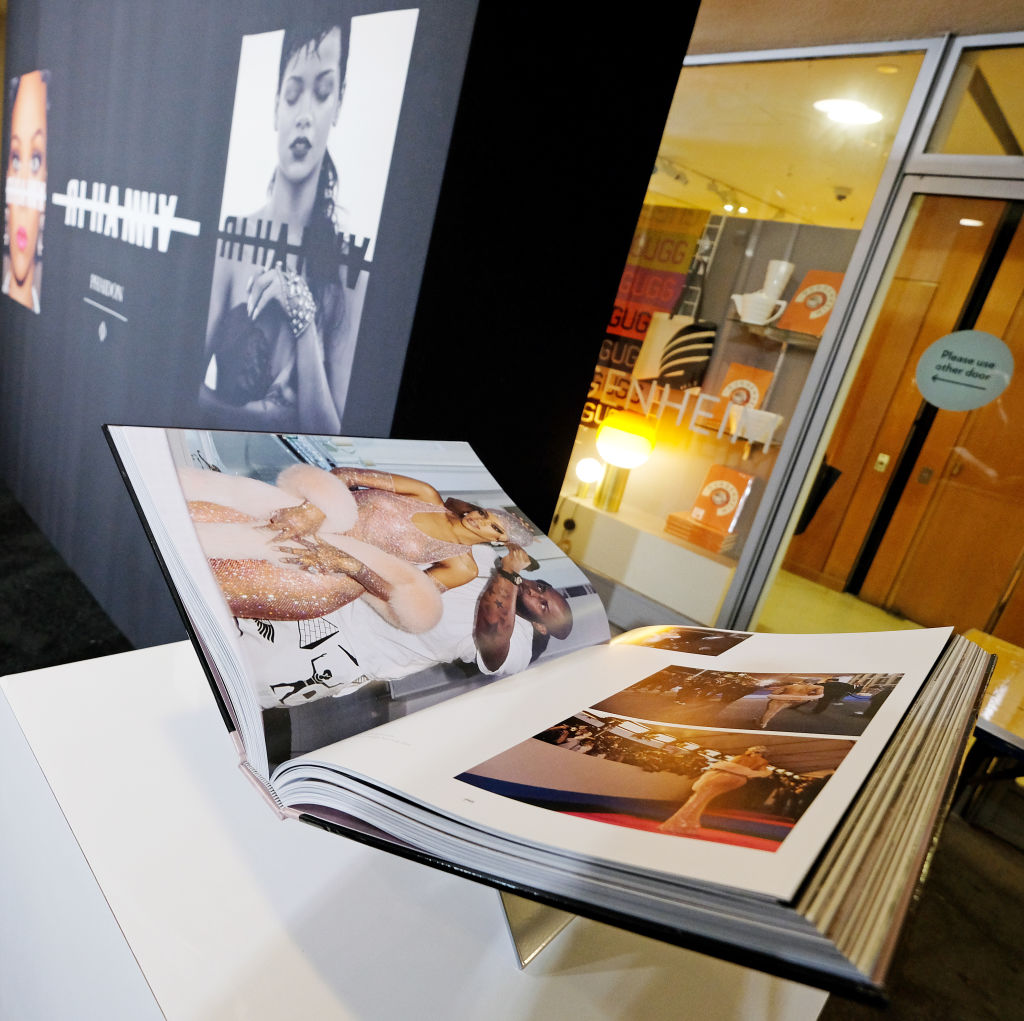 NEW YORK, NEW YORK - OCTOBER 11: A view of the book during the launch of Rihanna's first Visual Autobiography, Rihanna, at Guggenheim Museum on October 11, 2019 in New York City. (Photo by Dimitrios Kambouris/Getty Images for Rihanna)