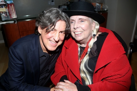 Joni Mitchell Makes Rare Public Appearance at the 'Almost Famous' Musical Premiere