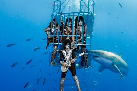 Paul Stanley of Kiss Plans to Shock Great White Sharks at Underwater Show