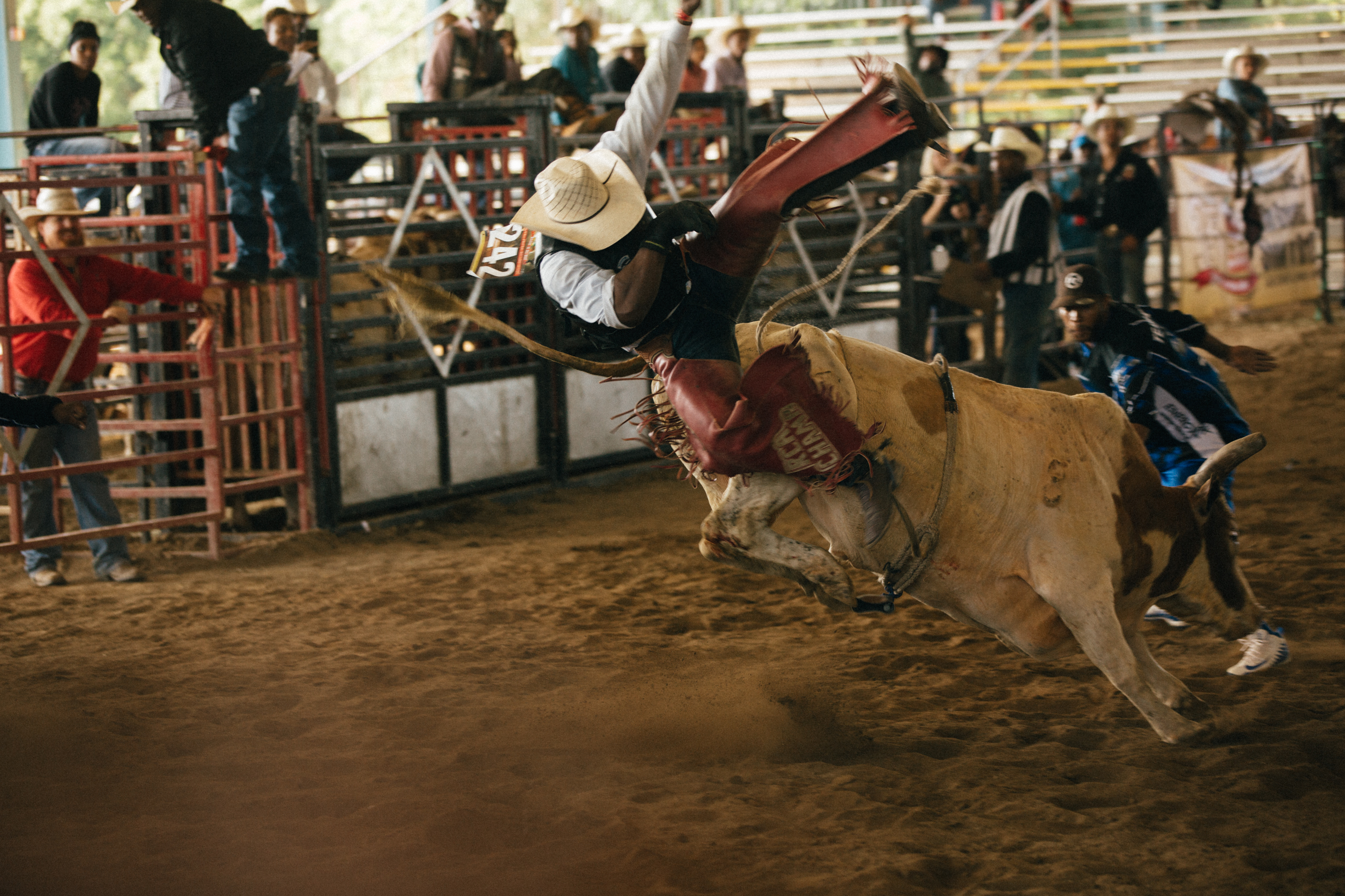The Bill Pickett Invitational Rodeo in Conyers, Georgia on August 3 and 4th, 2019.