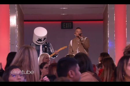 Marshmello, Kane Brown Perform 'One Thing Right' on 'Ellen'