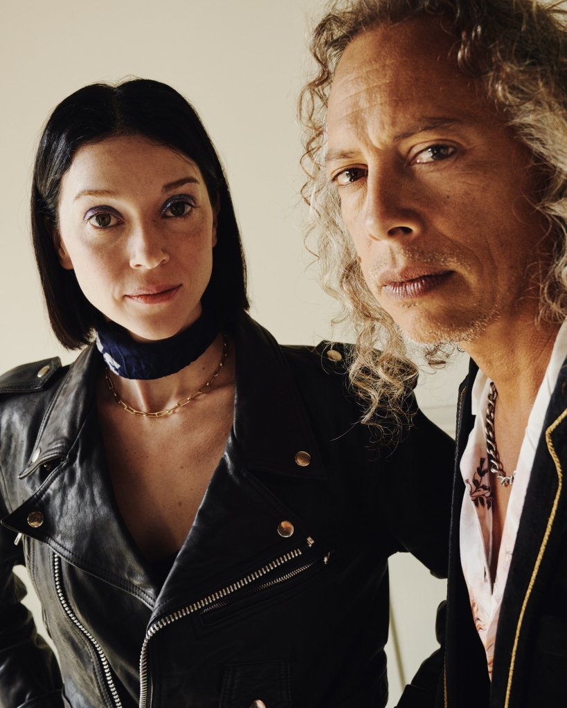 St. Vincent & Kirk Hammett