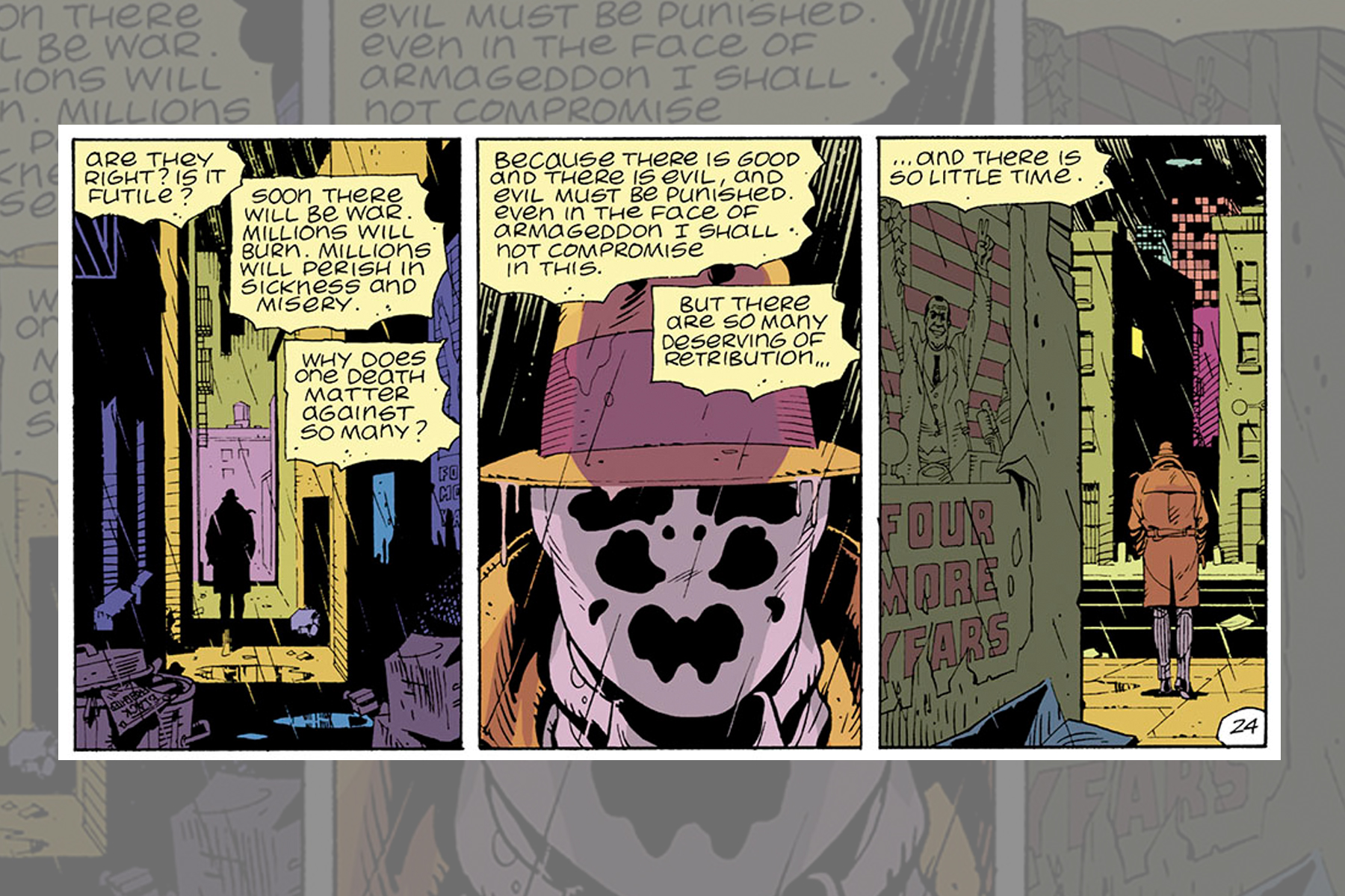 What to Know About the World of 'Watchmen'