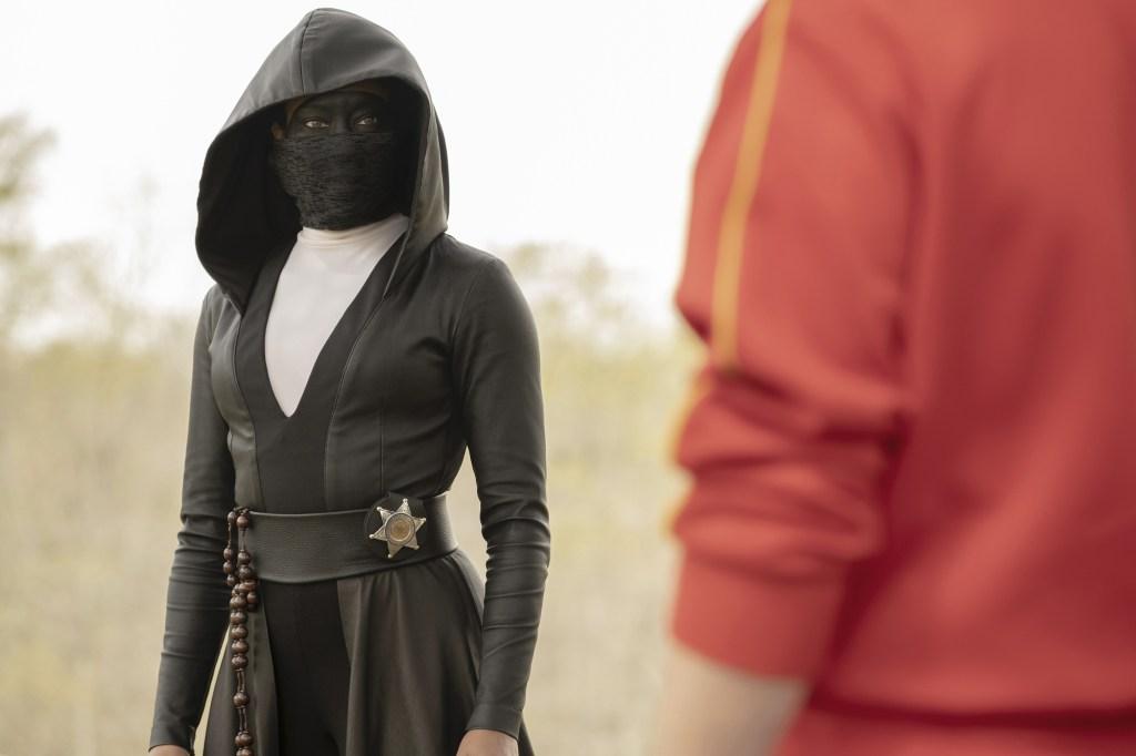 Regina King in Watchmen.