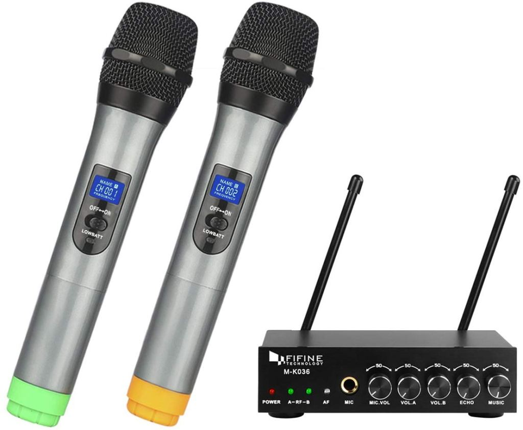 fifine wireless microphones