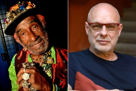 Hear Lee 'Scratch' Perry Recruit Brian Eno for 'Here Come the Warm Dreads'