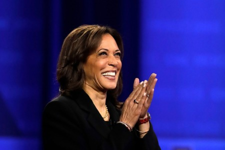 Kamala Harris Gloriously Claps Back at Donald Trump Jr.'s Insult