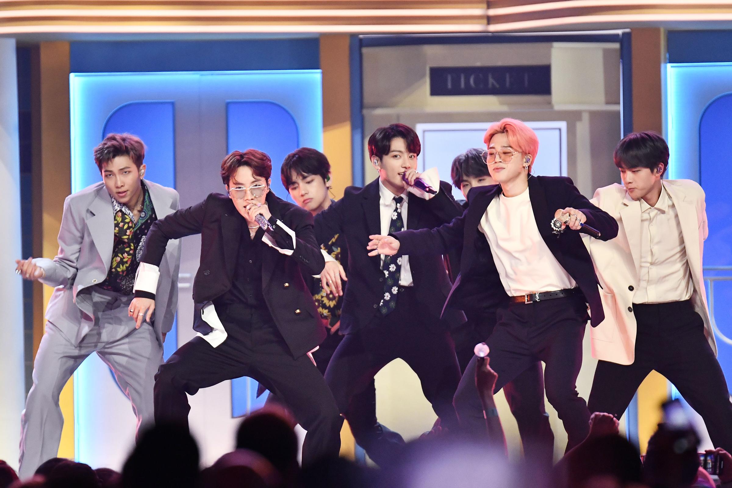 BTS Receive No Grammy Nominations - Rolling Stone