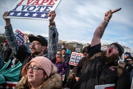 Trump Scraps Vape Ban After Uproar from E-Cigarette Lobby