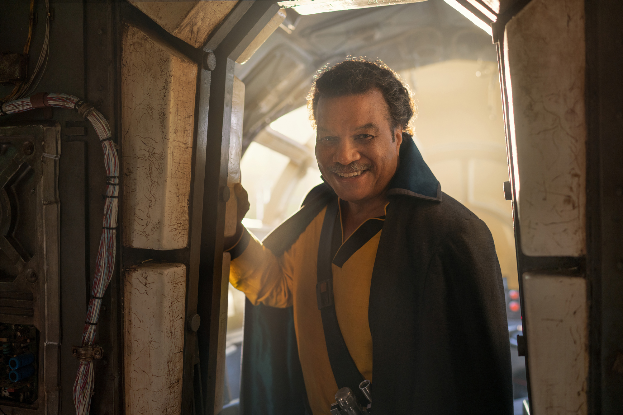 Lando Calrissian (Billy Dee Williams) in STAR WARS: THE RISE OF SKYWALKER.