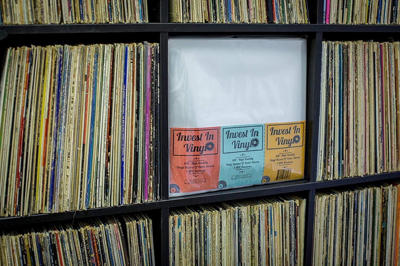 Invest In Vinyl Sleeves