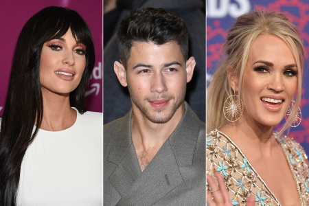 Kacey Musgraves, Jonas Brothers, Carrie Underwood Donate Items to Giving Tuesday