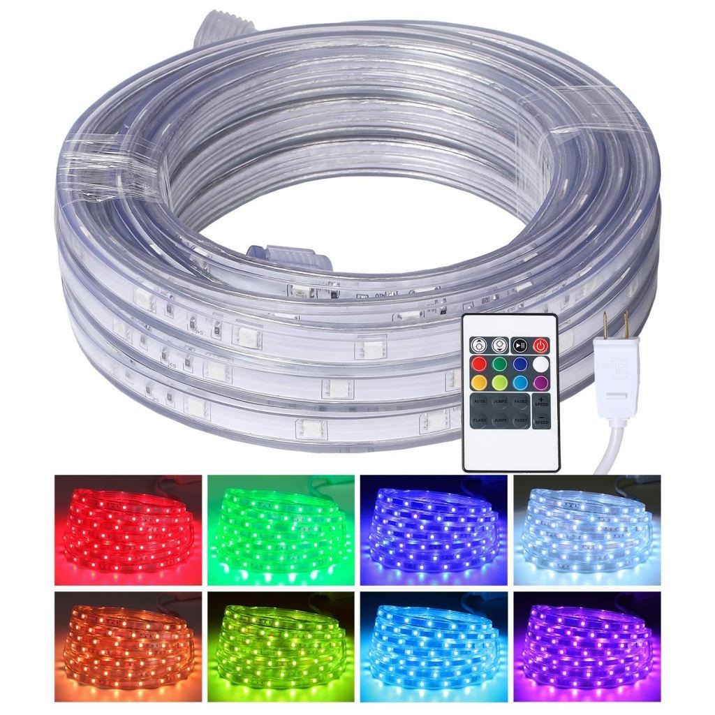 led rope lights areful