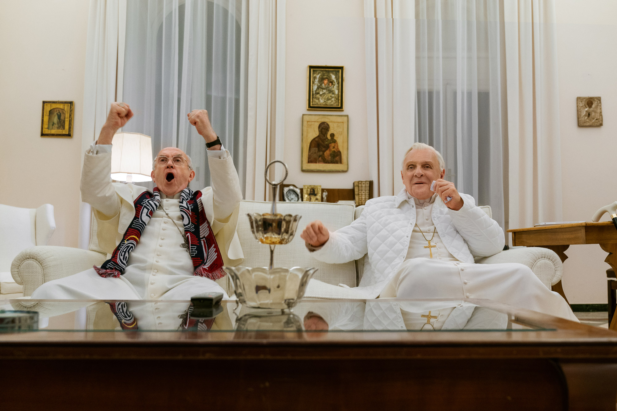 'The Two Popes' Review: A Face-off of Biblical Proportions