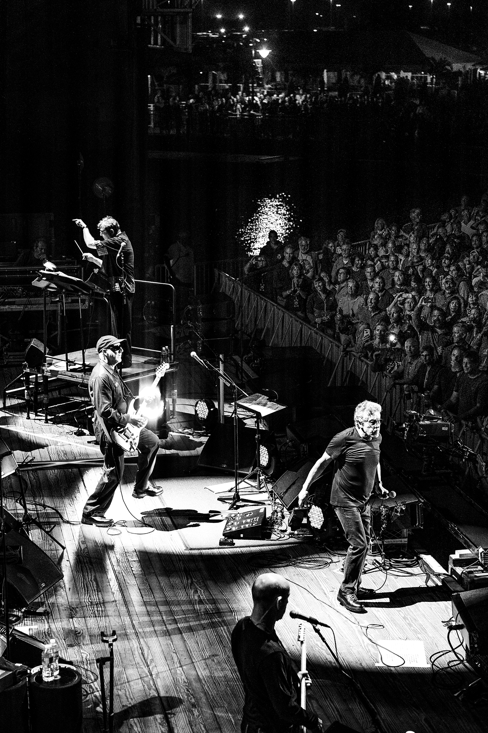 Onstage, September, The Who's current tour includes a 48-piece orchestra. Photograph by Devin Yalkin for Rolling Stone