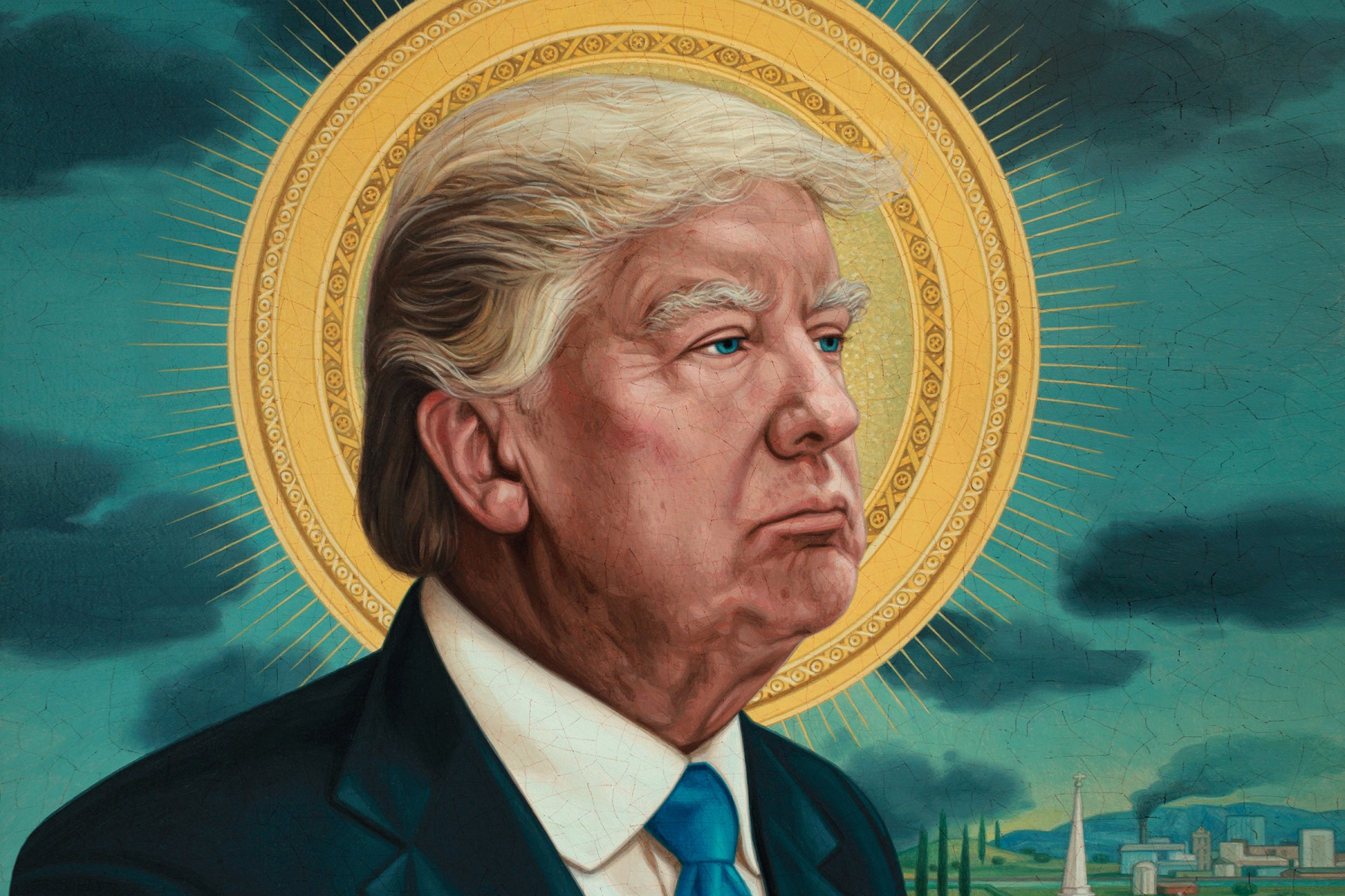trump false idol, christian right, antichrist trump