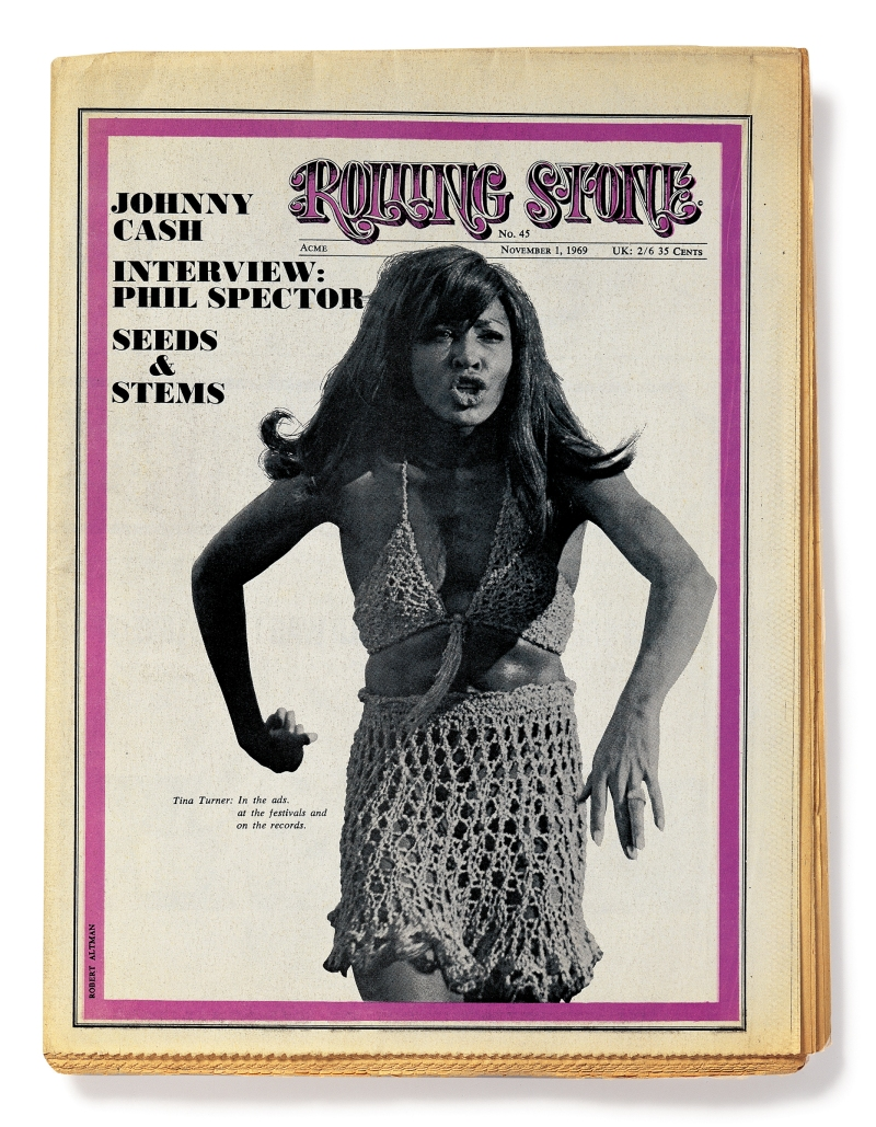 Tina Turner on the Cover of Rolling Stone - Rolling Stone