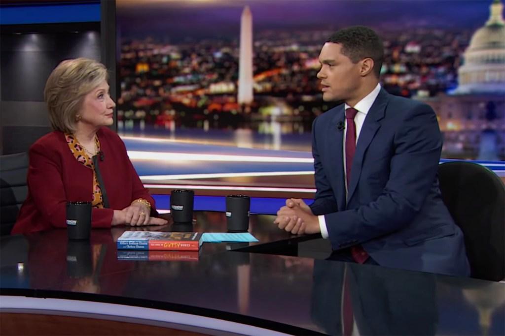 Trevor Noah Asks Hillary Clinton: 'How Did You Kill Jeffrey Epstein?'