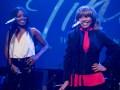 Adrienne Warren and Tina Turner.