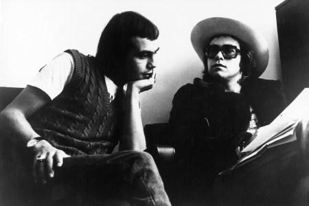 Elton John Lyrics Head to Auction via Bernie Taupin's Ex-Wife