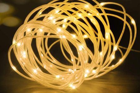 The Best Rope Lights Indoor Outdoor Led Rope Lights Vs Strip Lights Rolling Stone