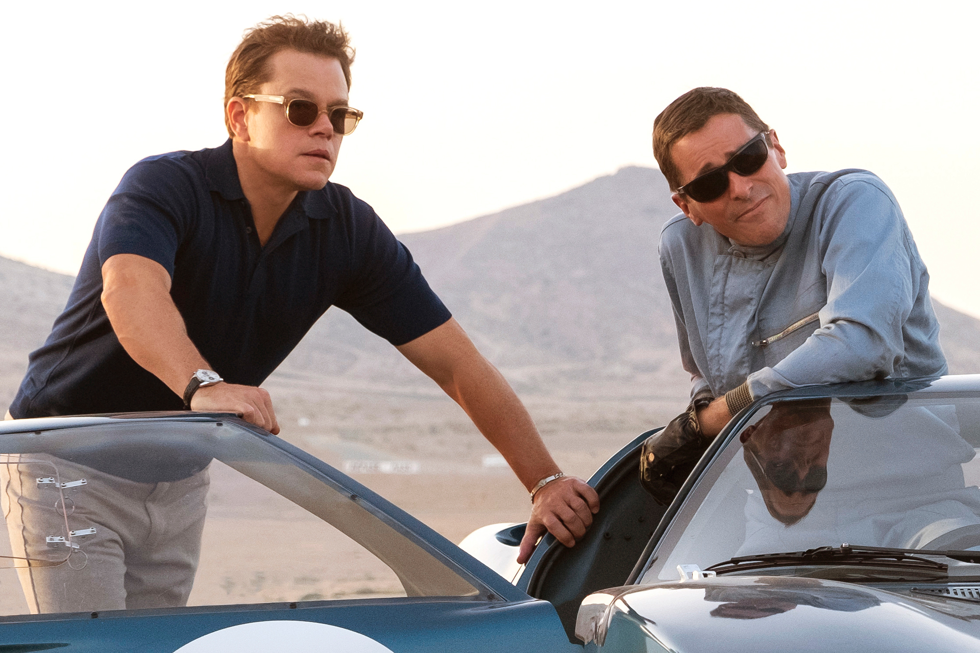 Ford V Ferrari Movie Review Damon Bale And The Need For Speed Rolling Stone