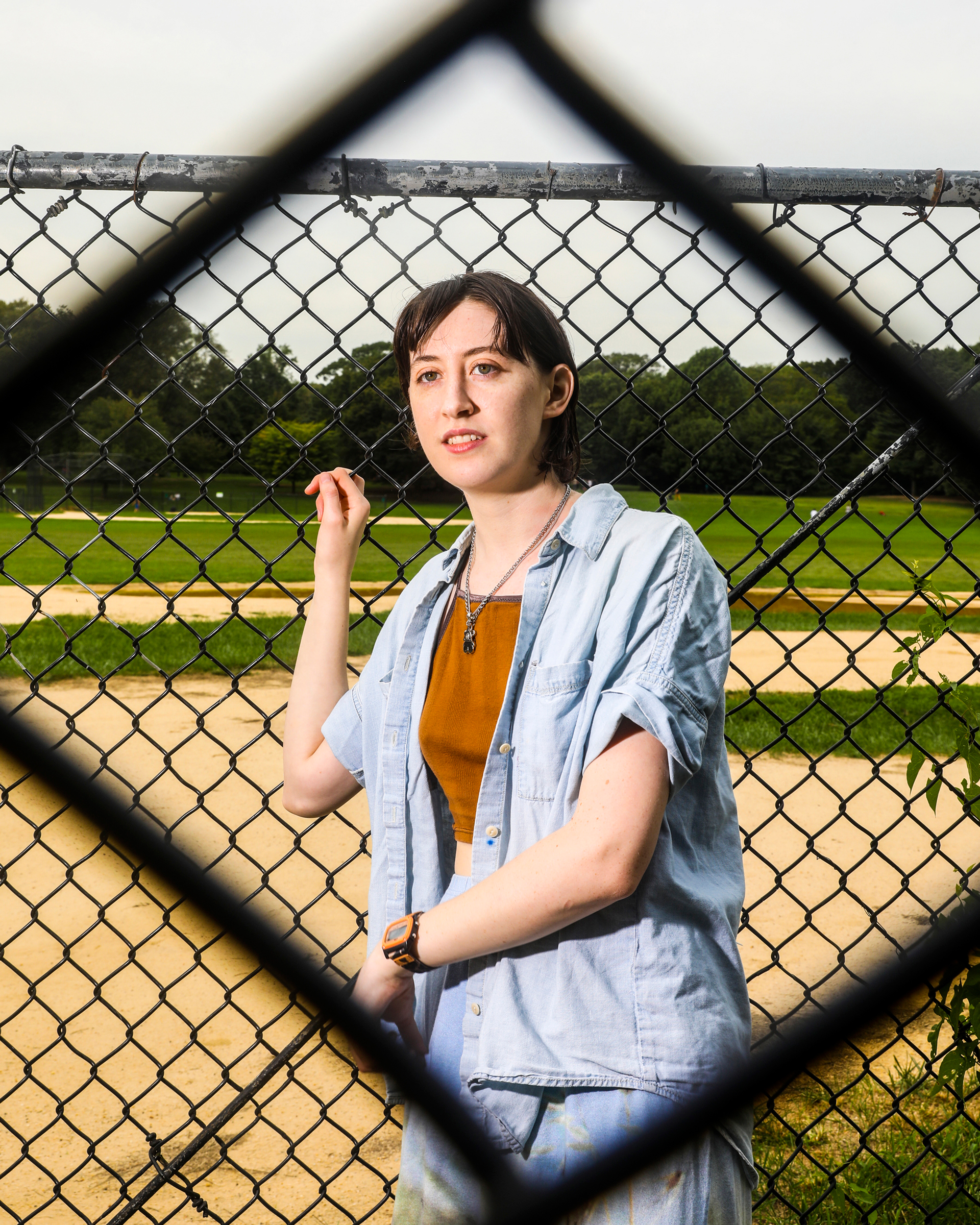 Frankie Cosmos photographed by Krista Schlueter for Rolling Stone