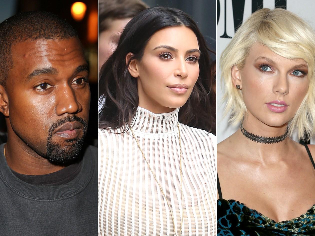 Kanye, Kim, Taylor