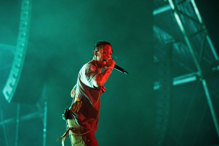 Travis Scott performs on stage during Day 2 of Music Midtown 2019, in Atlanta2019 Music MidTown, Atlanta, USA - 15 Sep 2019
