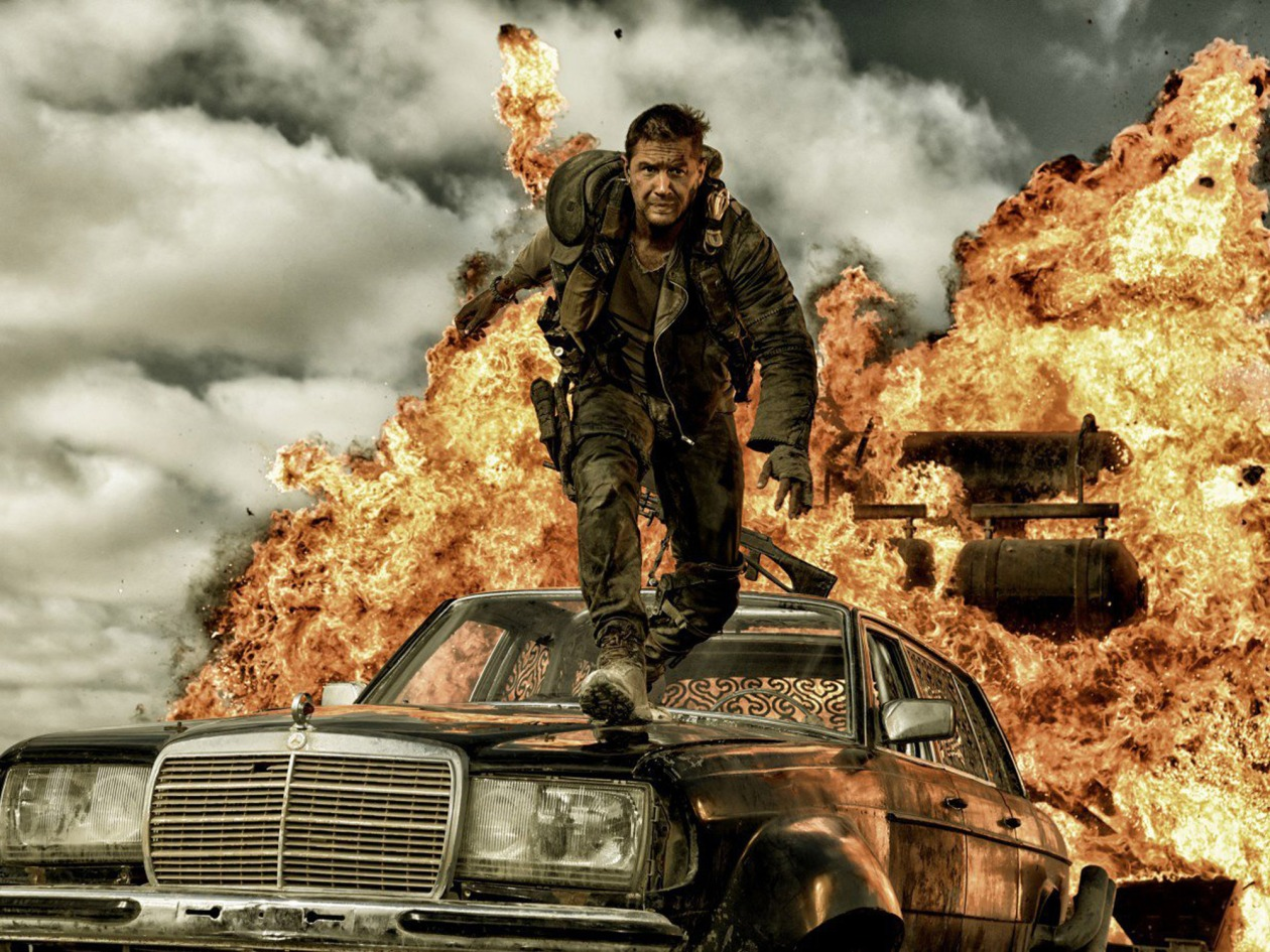 Editorial use only. No book cover usage.Mandatory Credit: Photo by Moviestore/Shutterstock (4313723l)Tom Hardy'Mad Max Fury Road' Film - 2015