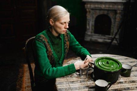 Viktoria Miroshnichenko in the Russian movie 'Beanpole.'