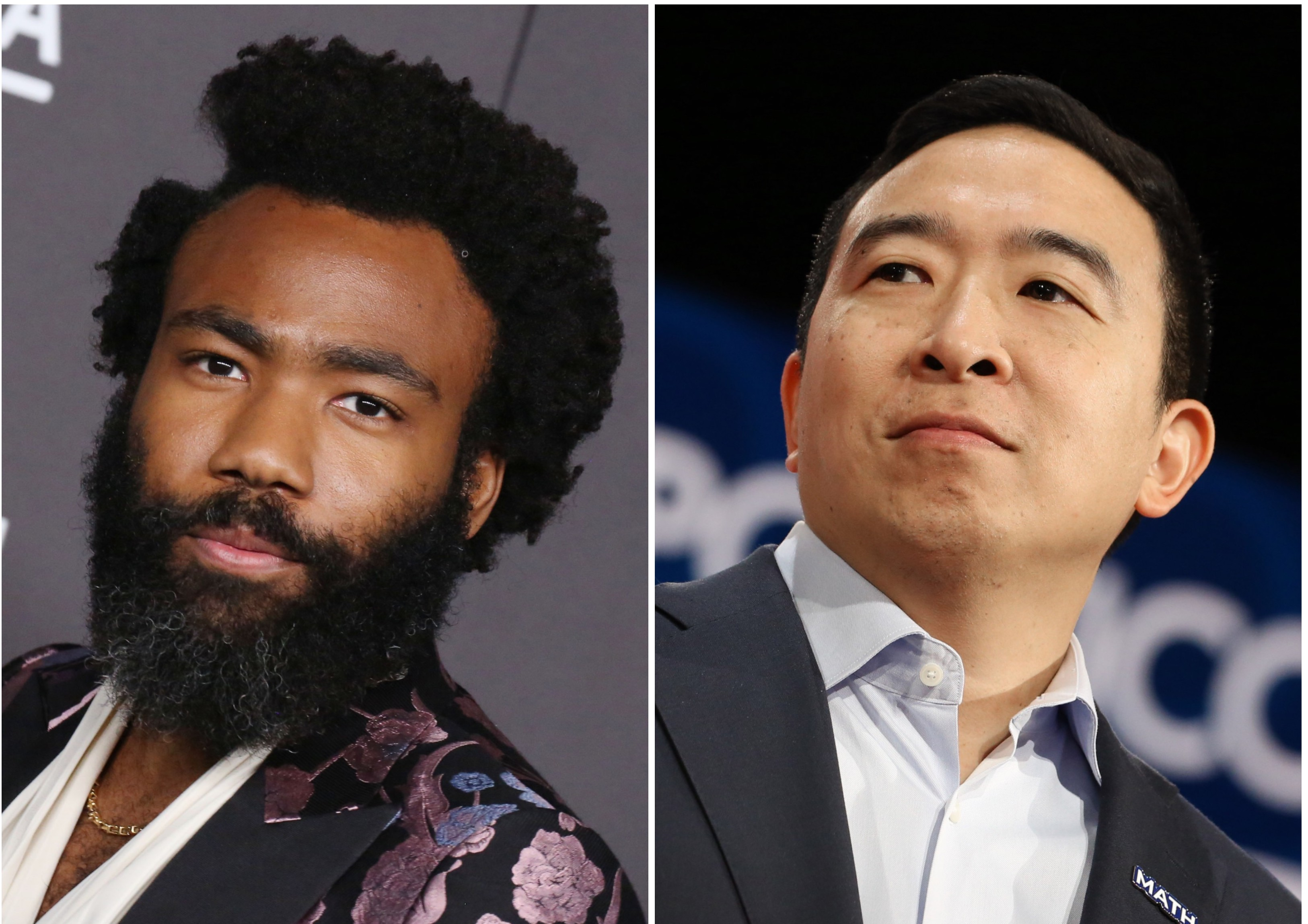 Donald Glover Named Creative Consultant For Andrew Yang S Campaign Rolling Stone
