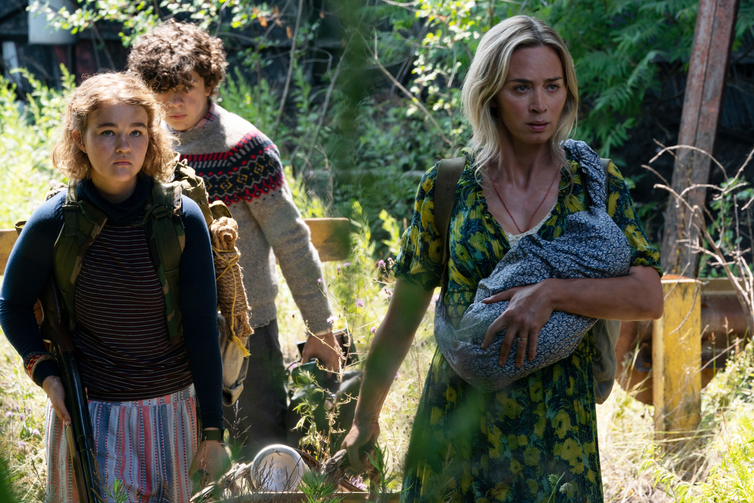 Emily Blunt Treads Lightly Through the Woods in 'A Quiet Place: Part 2' Teaser