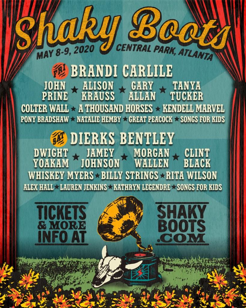 Shaky Boots 2020 Lineup