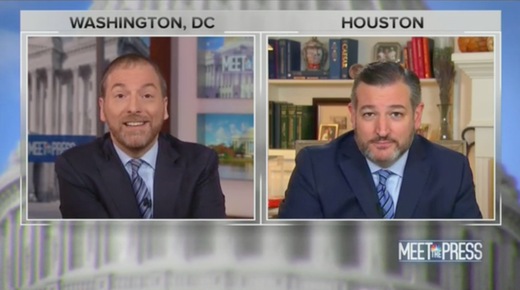 Ted Cruz Wishes He Hadn't Woken Up Early After Chuck Todd Was Through With Him
