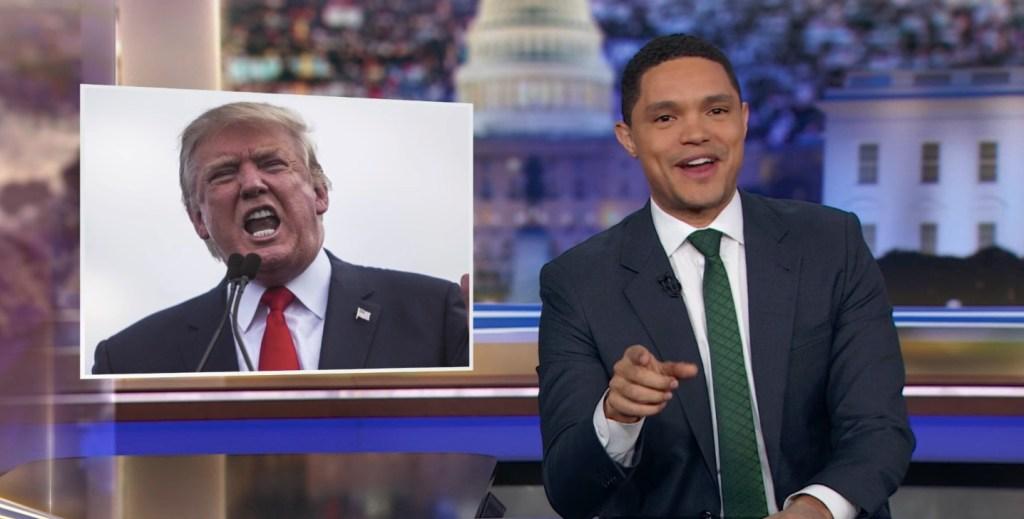 Trevor Noah Pokes Fun at Trump's Attempt to Troll Greta Thunberg