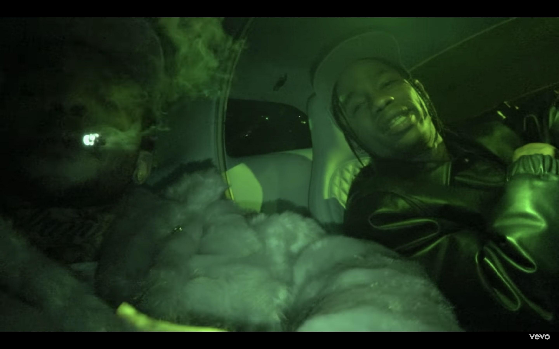 Watch Travis Scott, Pop Smoke Cruise Through Dark, Smoky 'Gatti' Video - EpicNews