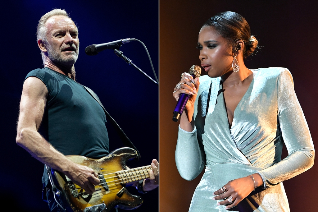 Sting, Jennifer Hudson to Perform at Global Citizen Prize Ceremony