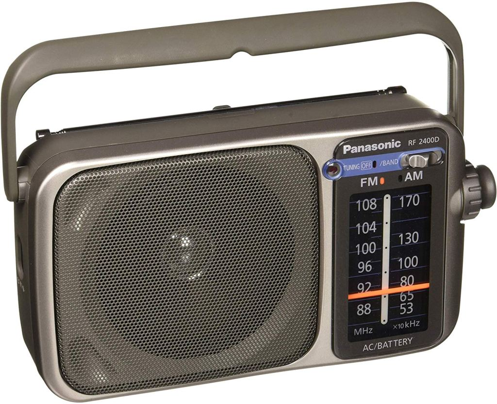 best-battery-powered-radio-panasonic