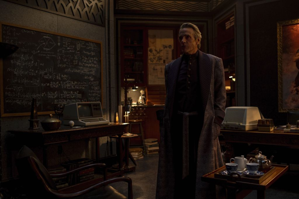 Jeremy Irons in Watchmen
