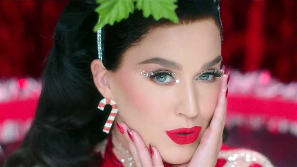 Katy Perry Warms Up by the Fire With Santa in 'Cozy Little Christmas' Video