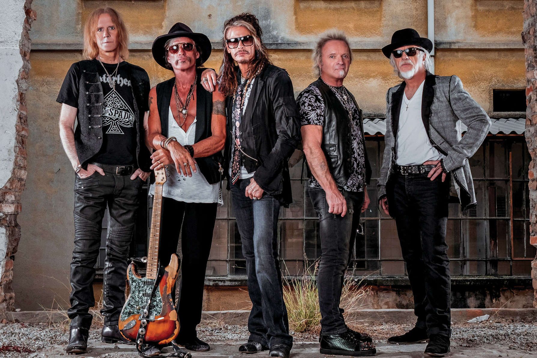 Aerosmith, BTS Donate Autographed Gear to MusiCares Charity Auction - EpicNews