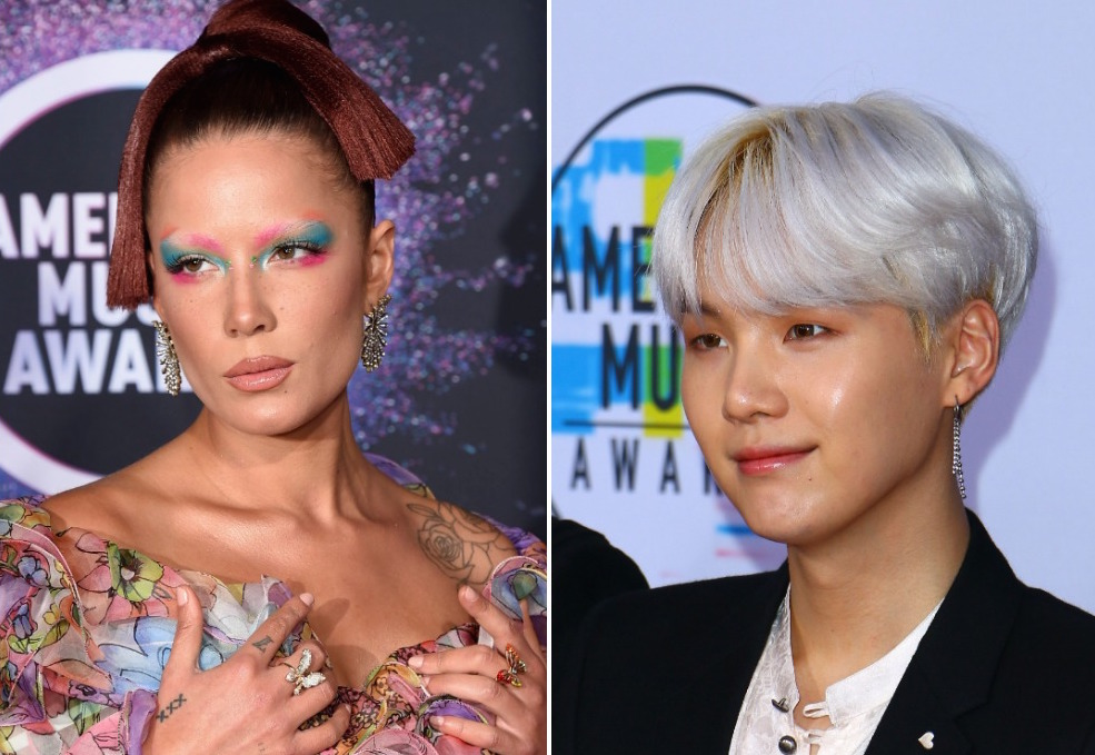 Hear Halsey Collaborate With BTS' SUGA on 'SUGA's Interlude'